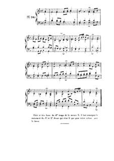 Choix de chorals: Choral No.34 by Иоганн Себастьян Бах