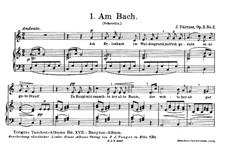 Am Bach, Op.3 No.2: Am Bach by Иоганн Дюррнер