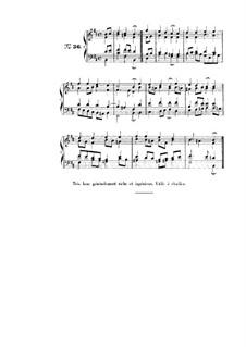 Choix de chorals: Choral No.36 by Иоганн Себастьян Бах