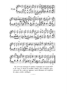 Choix de chorals: Choral No.37 by Иоганн Себастьян Бах