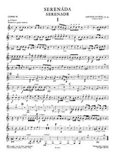 Серенада ре минор, B.77 Op.44: Партия третьей валторны by Антонин Дворжак