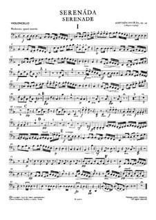 Серенада ре минор, B.77 Op.44: Партия виолончели by Антонин Дворжак