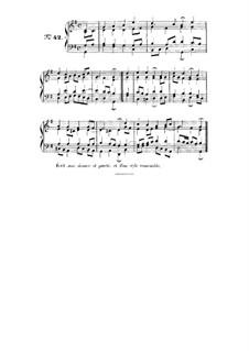 Choix de chorals: Choral No.42 by Иоганн Себастьян Бах