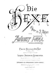 Die Hexe: Die Hexe by August Enna