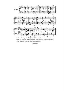 Choix de chorals: Choral No.44 by Иоганн Себастьян Бах