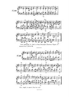 Choix de chorals: Choral No.48 by Иоганн Себастьян Бах