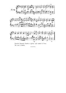 Choix de chorals: Choral No.52 by Иоганн Себастьян Бах