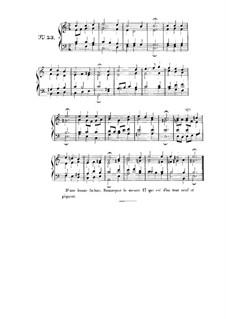 Choix de chorals: Choral No.53 by Иоганн Себастьян Бах