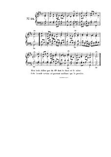Choix de chorals: Choral No.54 by Иоганн Себастьян Бах