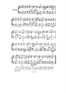 Choix de chorals: Choral No.55 by Иоганн Себастьян Бах