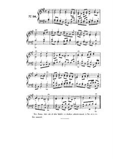 Choix de chorals: Choral No.56 by Иоганн Себастьян Бах