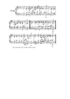 Choix de chorals: Choral No.59 by Иоганн Себастьян Бах