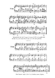 Choix de chorals: Choral No.61 by Иоганн Себастьян Бах