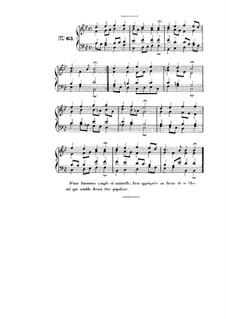 Choix de chorals: Choral No.63 by Иоганн Себастьян Бах
