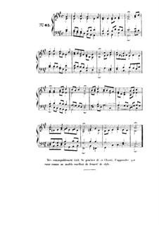 Choix de chorals: Choral No.65 by Иоганн Себастьян Бах