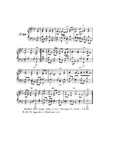 Choix de chorals: Choral No.68 by Иоганн Себастьян Бах