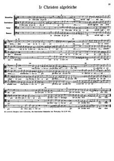 Ir Christen algeleiche: Ir Christen algeleiche by Арнольд фон Брук