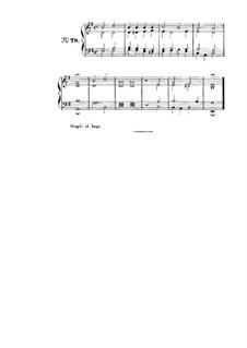 Choix de chorals: Choral No.78 by Иоганн Себастьян Бах