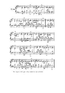Choix de chorals: Choral No.84 by Иоганн Себастьян Бах
