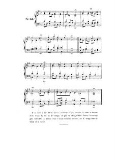 Choix de chorals: Choral No.85 by Иоганн Себастьян Бах