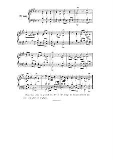 Choix de chorals: Choral No.86 by Иоганн Себастьян Бах
