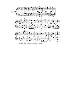 Choix de chorals: Choral No.87 by Иоганн Себастьян Бах