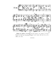 Choix de chorals: Choral No.88 by Иоганн Себастьян Бах