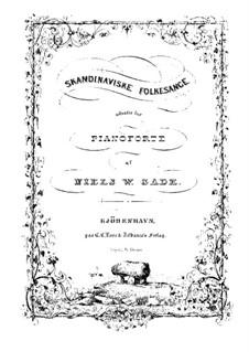 Тридцать скандинавских народных песен: Для фортепиано by folklore