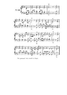 Choix de chorals: Choral No.89 by Иоганн Себастьян Бах
