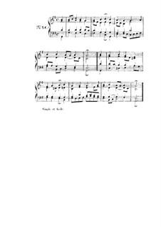 Choix de chorals: Choral No.90 by Иоганн Себастьян Бах