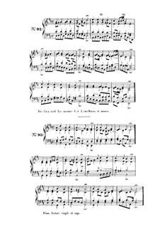 Choix de chorals: Choral No.92 by Иоганн Себастьян Бах