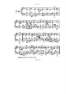 Choix de chorals: Choral No.94 by Иоганн Себастьян Бах