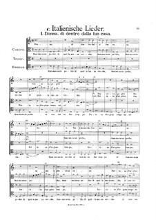 Светские сочинения: Итальянские песни by Хенрик Изак