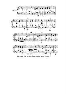 Choix de chorals: Choral No.98 by Иоганн Себастьян Бах