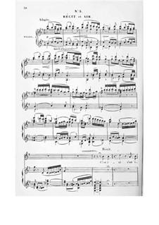 Асторга: Акт I, No.3-4, для солистов, хора и фортепиано by Иоганн Йозеф Аберт
