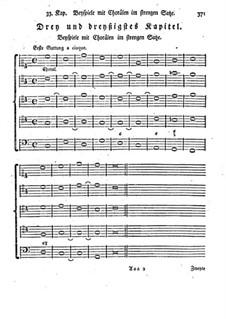 Фундаментальное руководство по композиции: Главы 33-34 by Иоганн Георг Альбрехтсбергер