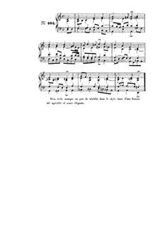 Choix de chorals: Choral No.104 by Иоганн Себастьян Бах