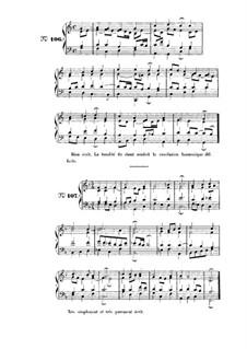 Choix de chorals: Choral No.106 by Иоганн Себастьян Бах