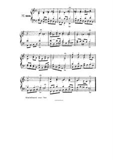 Choix de chorals: Choral No.108 by Иоганн Себастьян Бах
