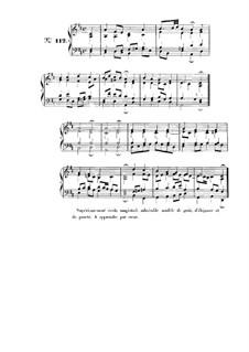 Choix de chorals: Choral No.112 by Иоганн Себастьян Бах
