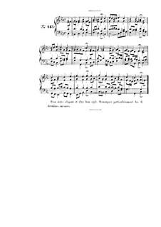 Choix de chorals: Choral No.113 by Иоганн Себастьян Бах
