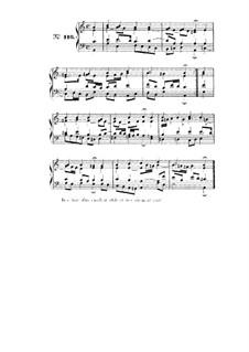 Choix de chorals: Choral No.116 by Иоганн Себастьян Бах
