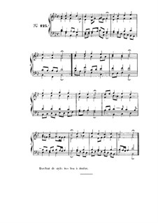 Choix de chorals: Choral No.125 by Иоганн Себастьян Бах