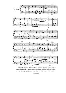 Choix de chorals: Choral No.129 by Иоганн Себастьян Бах