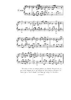Choix de chorals: Choral No.132 by Иоганн Себастьян Бах