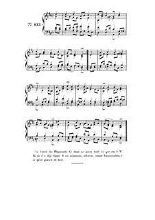 Choix de chorals: Choral No.133 by Иоганн Себастьян Бах