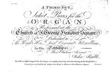Избранные пьесы для органа: No.13-18 by John Keeble