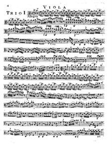 Шесть струнных трио, Op.14: Партия альтов by Луиджи Боккерини