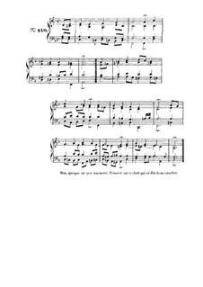 Choix de chorals: Choral No.140 by Иоганн Себастьян Бах