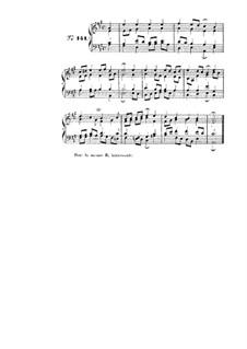 Choix de chorals: Choral No.141 by Иоганн Себастьян Бах